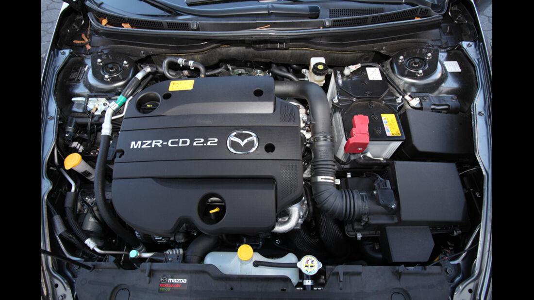 Mazda 6 Kombi 2.2, Motor