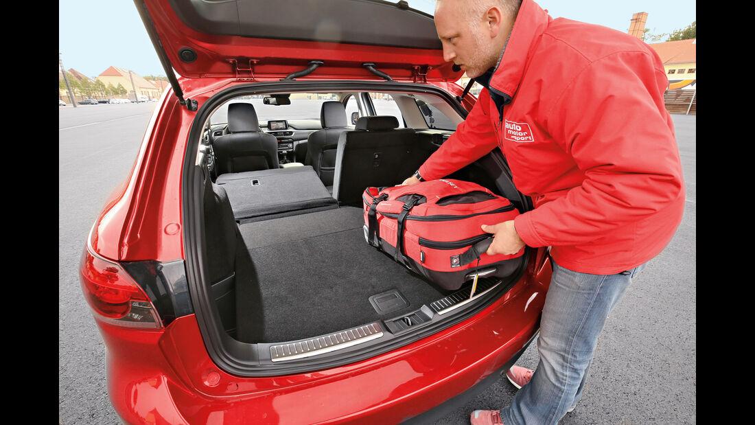 Mazda 6 Kombi D 150, Kofferraum