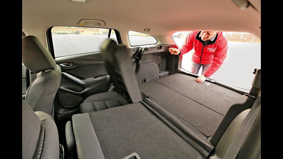Mazda 6 Kombi D 150, Ladefläche
