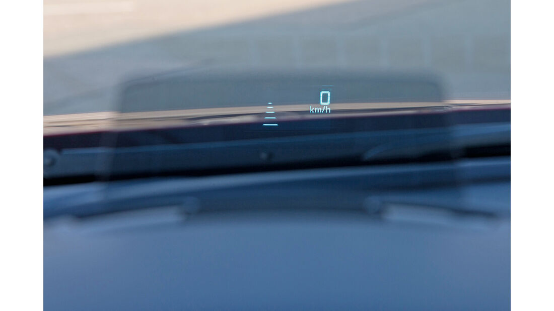 Mazda 6 Kombi D 175 i AWD, Head-up-Display