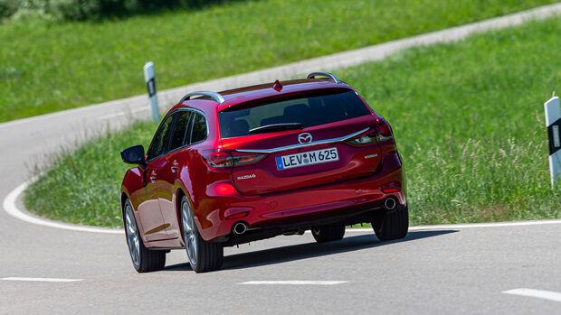 Mazda 6 Kombi D 184 Sports-Line, Exterieur
