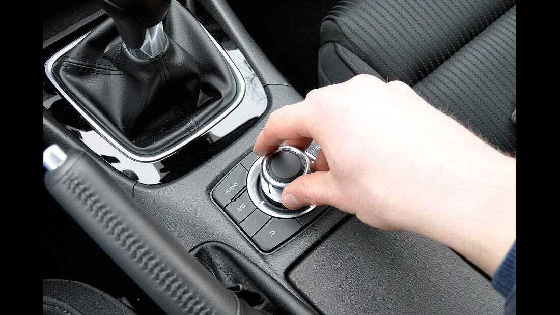 Mazda 6 Kombi, Dreh-Drücksteller