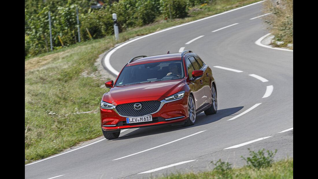 Mazda 6 Kombi, Exterieur