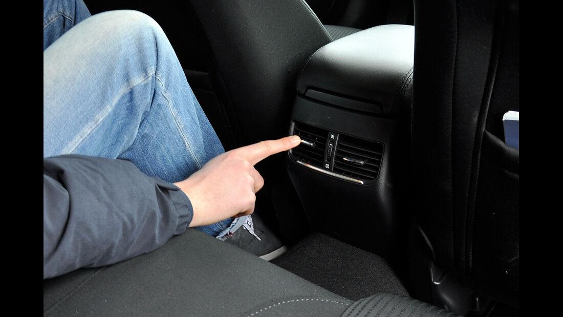 Mazda 6 Kombi, Fond, Lüftungsdüsen