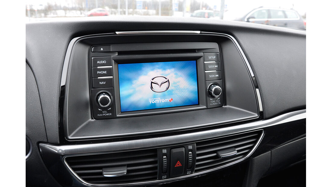 Mazda 6 Kombi, Infotainment, Touchscreen
