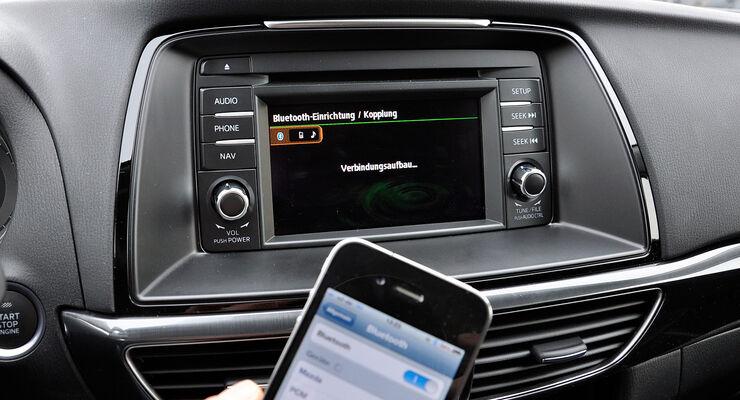Mazda 6 Kombi, Infotainment, Touchscreen, Bluetooth