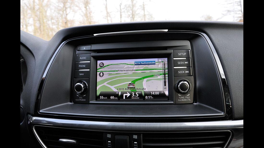 Mazda 6 Kombi, Infotainment, Touchscreen, Navigation