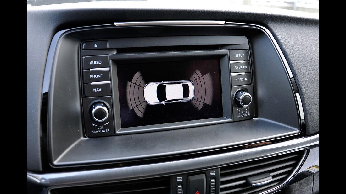 Mazda 6 Kombi, Infotainment, Touchscreen, Parkassistent