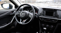 Mazda 6 Kombi, Innenraum, Lenkrad, Cockpit