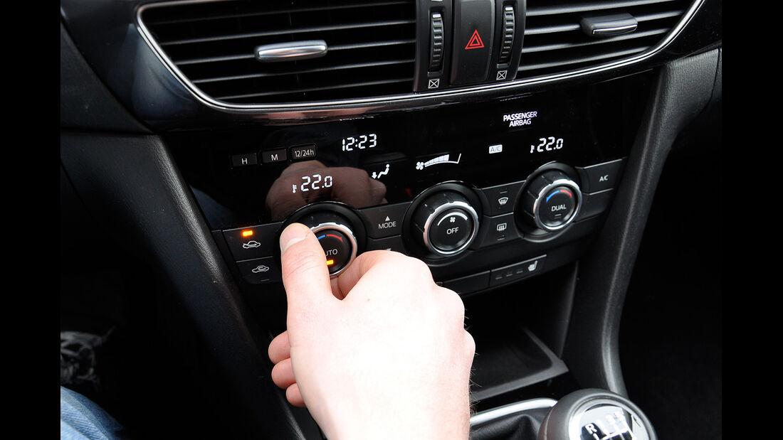 Mazda 6 Kombi, Klimanalage, Klimaautomatik