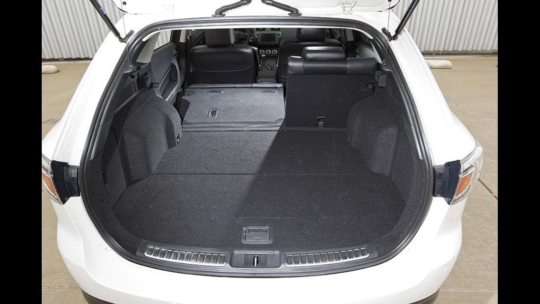 Mazda 6 Kombi Kofferraum