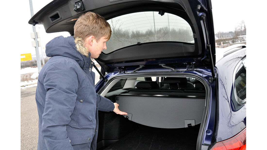 Mazda 6 Kombi, Kofferraum, Hutablage