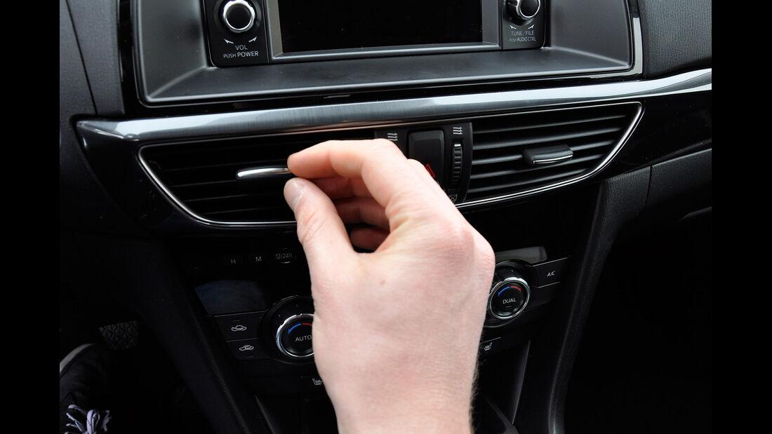 Mazda 6 Kombi, Lüftungsdüsen