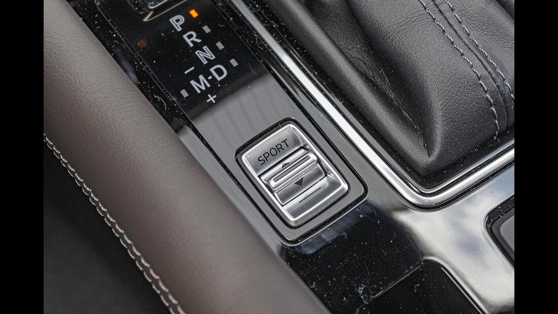 Mazda 6 Kombi, Mittelkonsole
