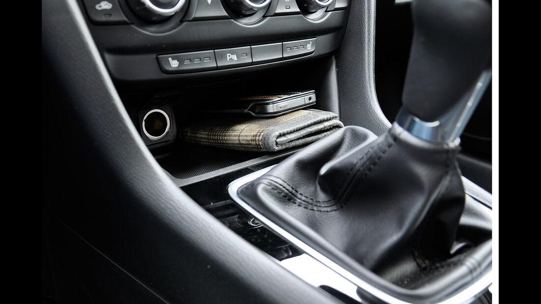 Mazda 6 Kombi, Mittelkonsole, Ablagen