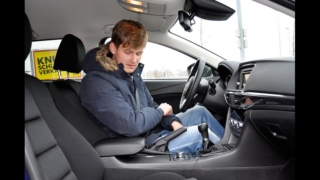 Mazda 6 Kombi, Mittelkonsole, Armlehne