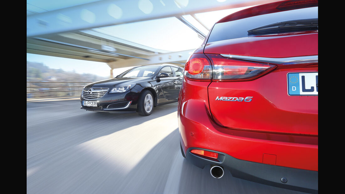 Mazda 6 Kombi, Opel Insignia Sports Tourer, Fazit