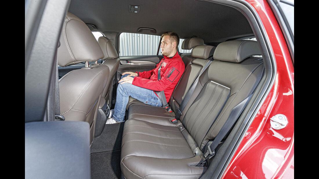 Mazda 6 Kombi, Rückbank
