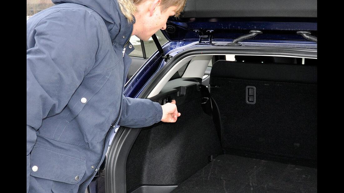 Mazda 6 Kombi, Rückbank, Klappmechanismus