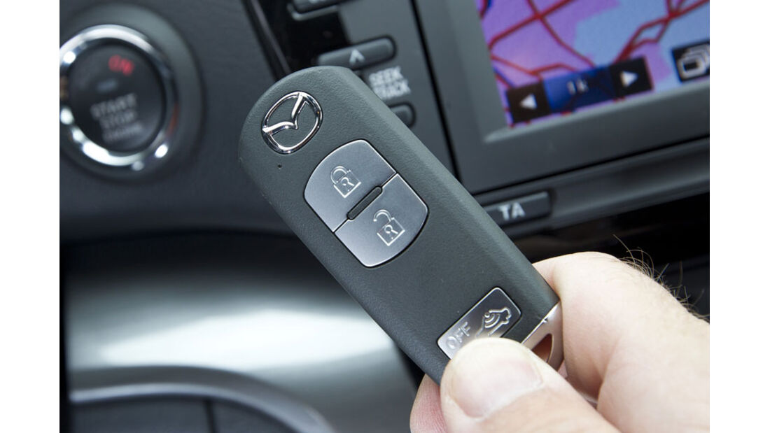 Mazda 6 Kombi, Schlüssel