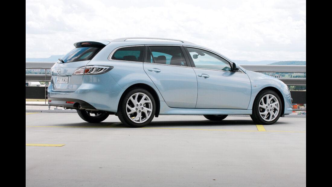 Mazda 6, Kombi, Seitenansicht