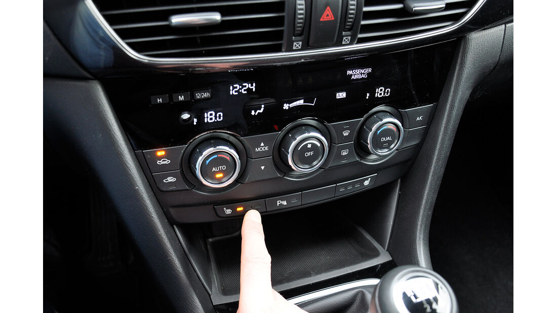 Mazda 6 Kombi, Sitzheizung