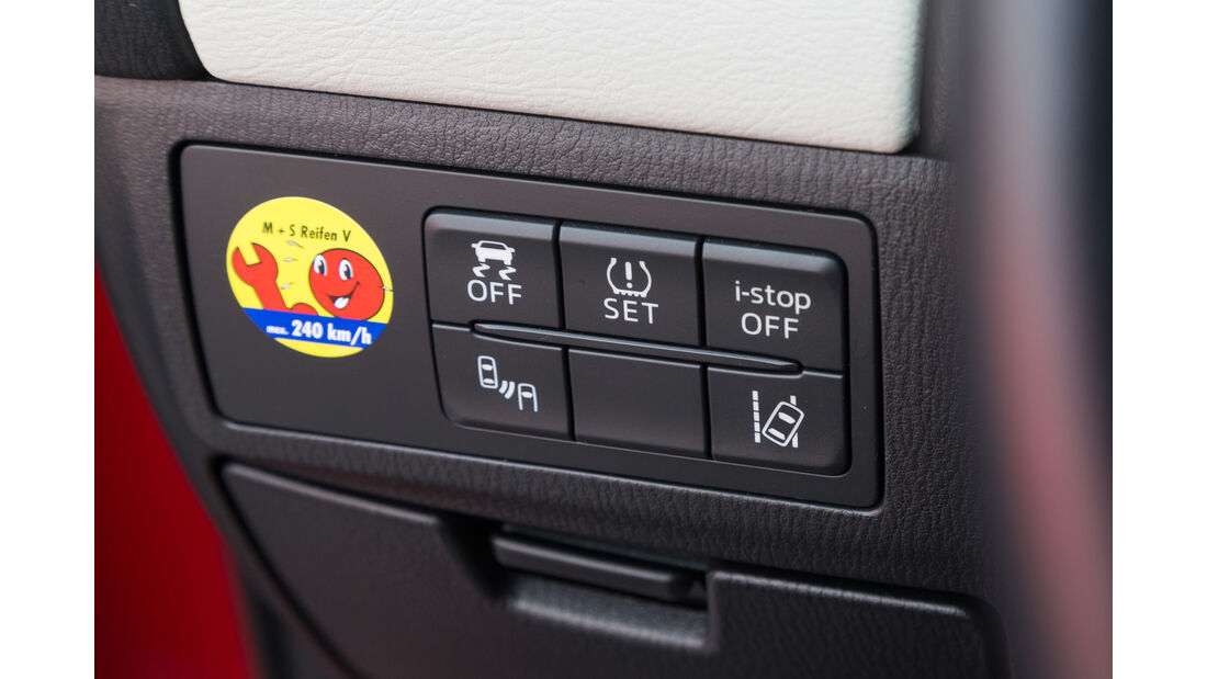 Mazda 6 Kombi Skyactiv-D 175 AWD, Bedienelemente