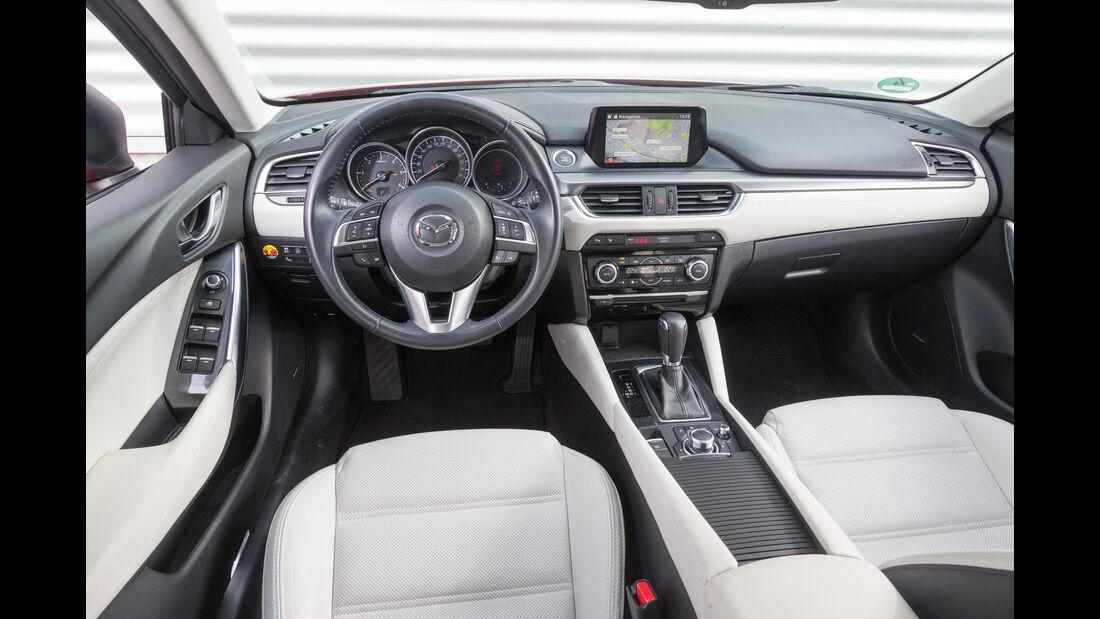 Mazda 6 Kombi Skyactiv-D 175 AWD, Cockpit