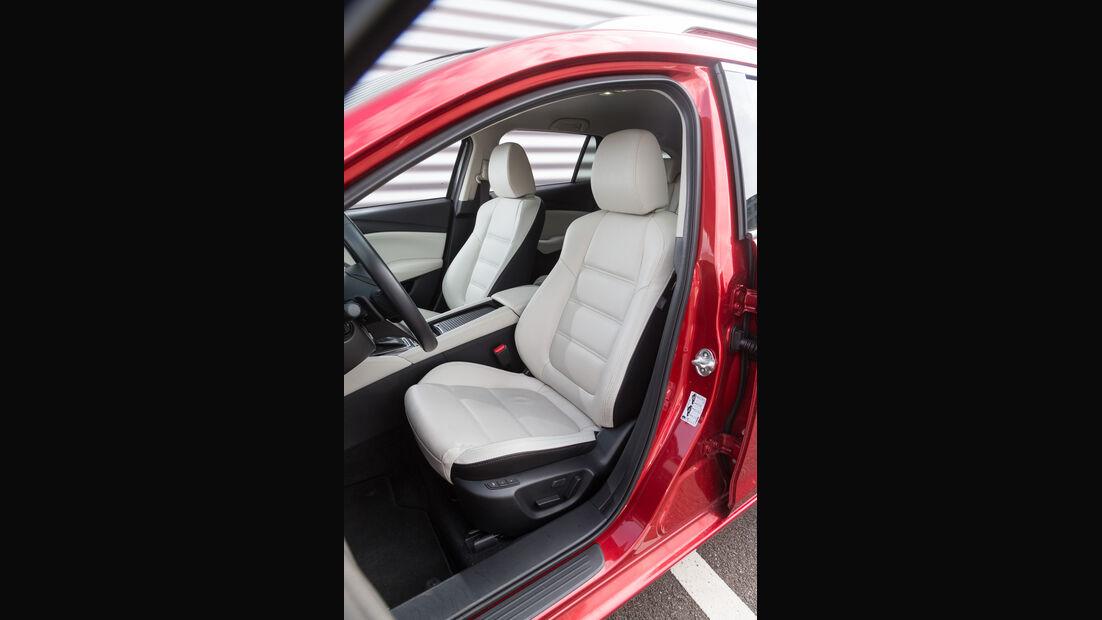 Mazda 6 Kombi Skyactiv-D 175 AWD, Fahrersitz
