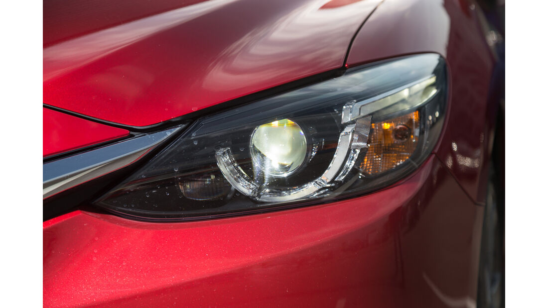 Mazda 6 Kombi Skyactiv-D 175 AWD, Frontscheinwerfer