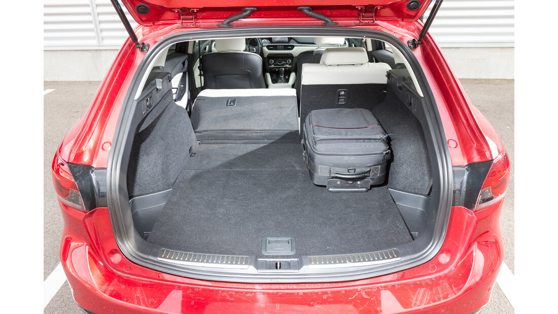 Mazda 6 Kombi Skyactiv-D 175 AWD, Kofferraum
