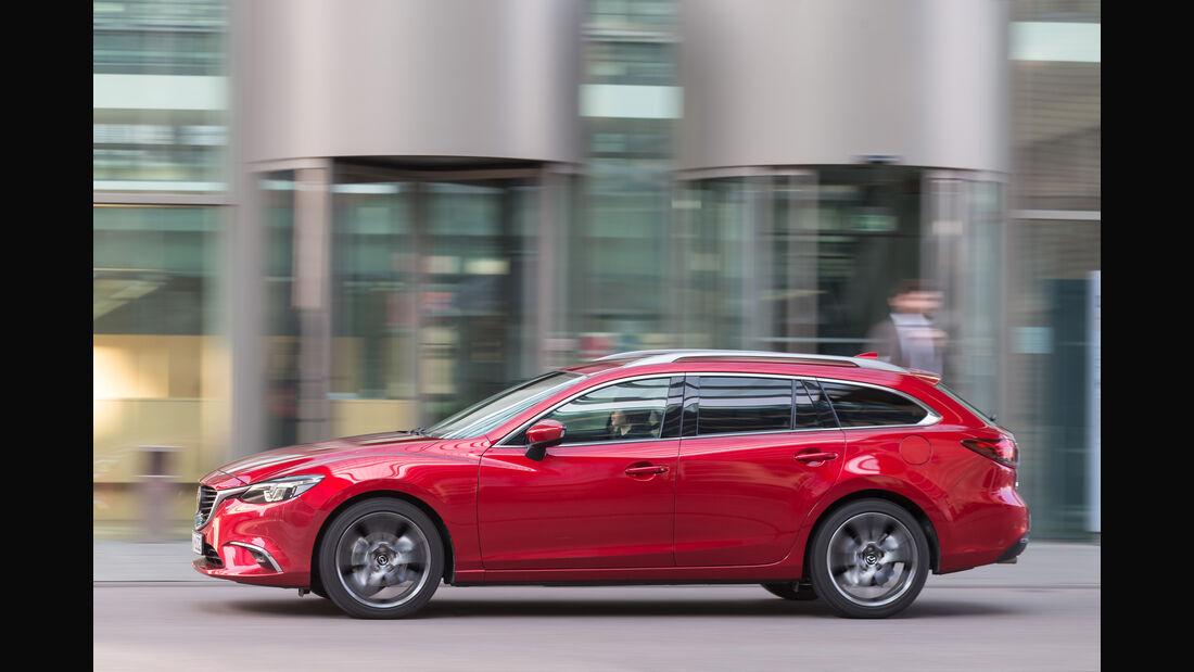 Mazda 6 Kombi Skyactiv-D 175 AWD, Seitenansicht