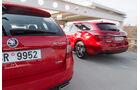 Mazda 6 Kombi Skyactiv-D 175 AWD, Skoda Octavia Combi RS 2.0 TDI 4x4
