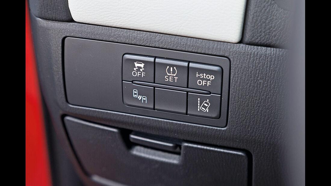Mazda 6 Kombi Skyactiv-D 175, Bedienelemente