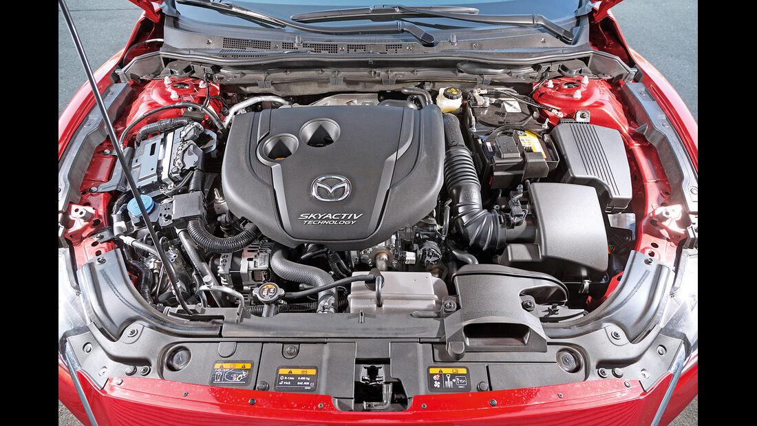 Mazda 6 Kombi Skyactiv-D 175, Motor