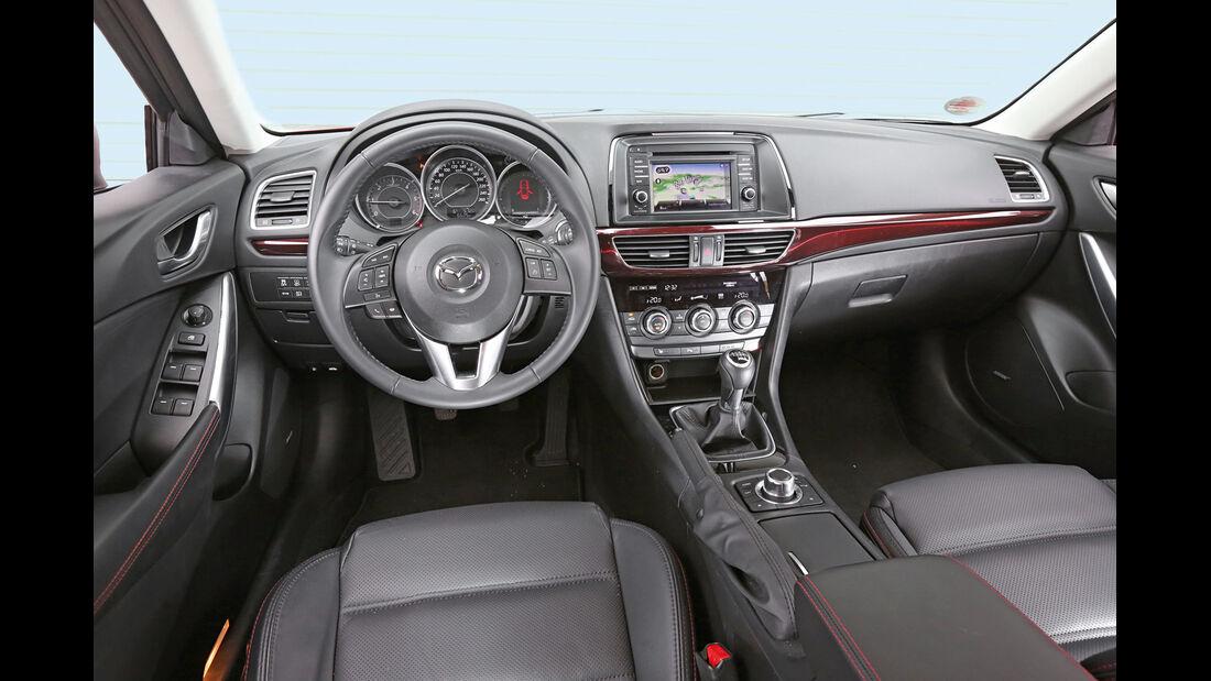 Mazda 6 Kombi Skyaktiv-D 175, Cockpit