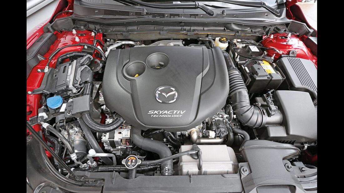 Mazda 6 Kombi Skyaktiv-D 175, Motor