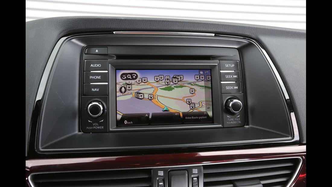 Mazda 6 Kombi Skyaktiv-D 175, Navi, Bildschirm