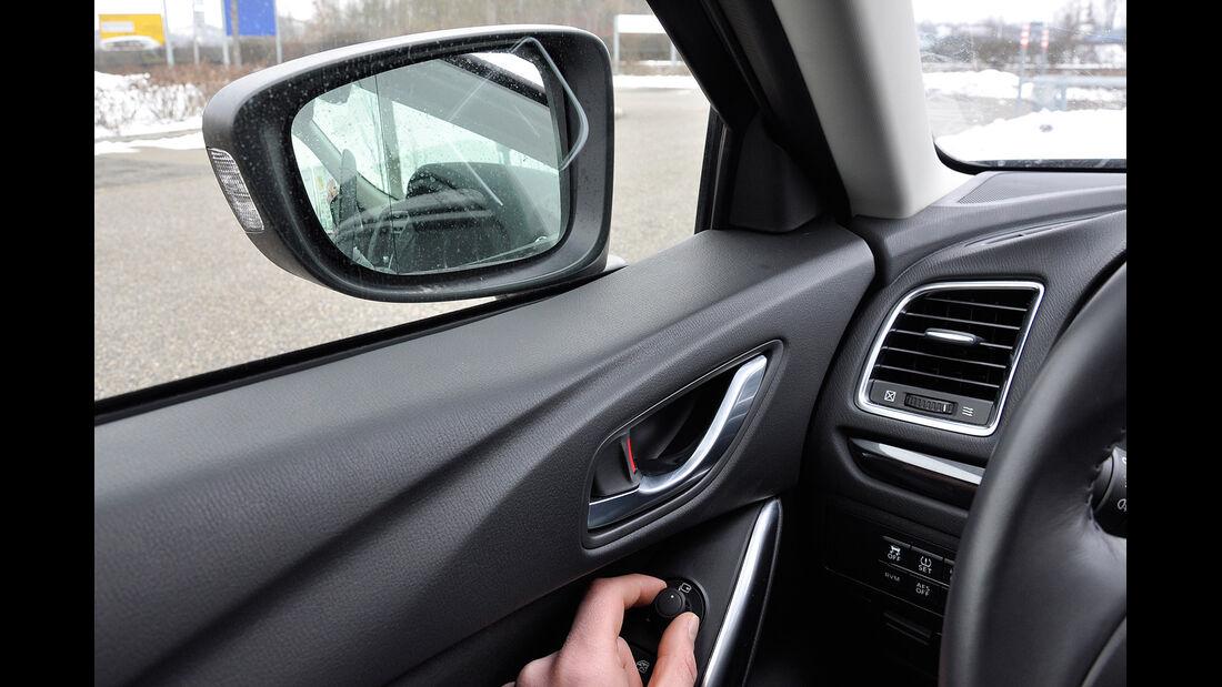 Mazda 6 Kombi, Spiegerleinstellung