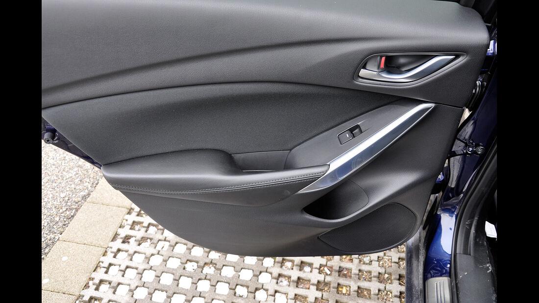 Mazda 6 Kombi, Türverkleidung, Ablagen