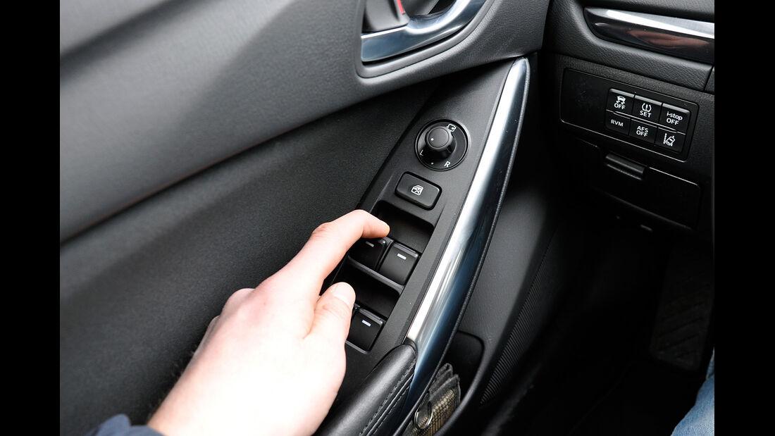 Mazda 6 Kombi, elektrische Fensterheber