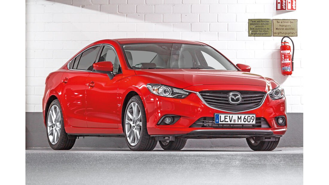 Mazda 6 Limousine, Frontansicht