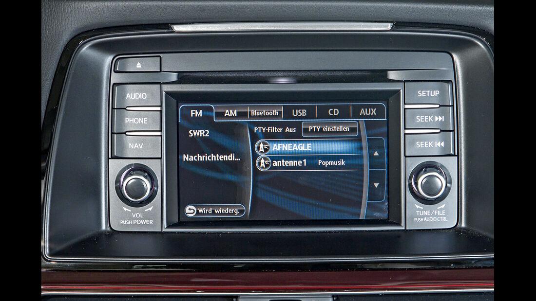 Mazda 6 Limousine, Radio