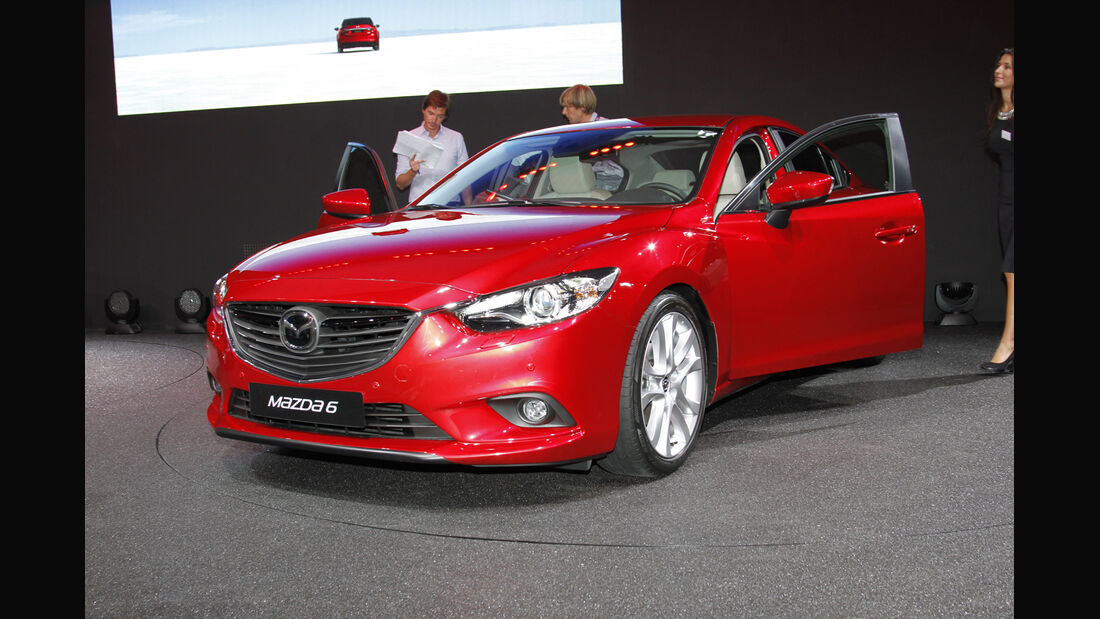 Mazda 6, Messe, Autosalon Paris 2012