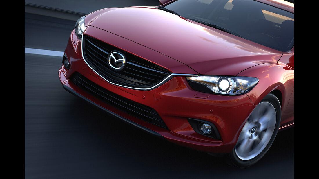 Mazda 6, Motorhaube