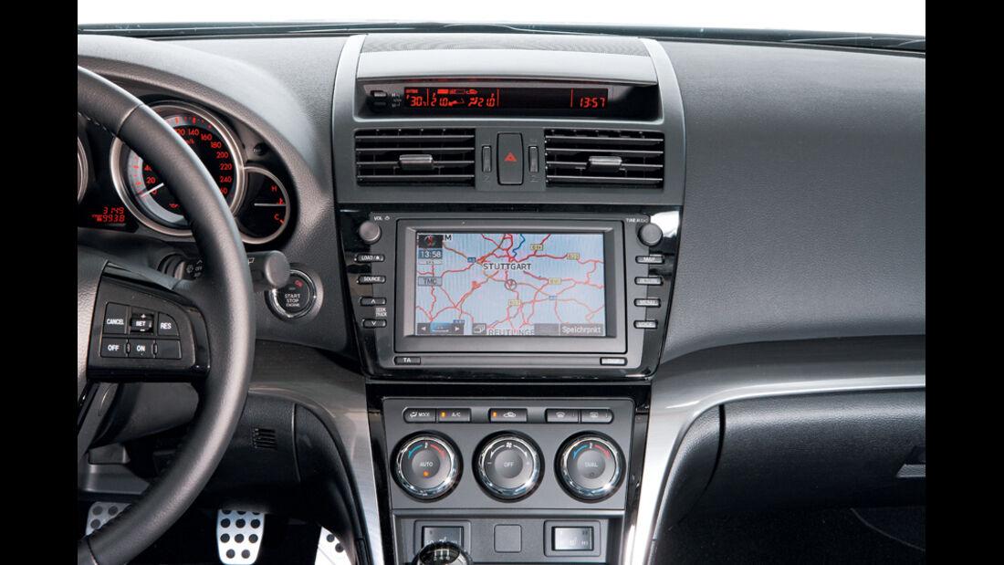 Mazda 6, Navigationssystem, Bildschirm