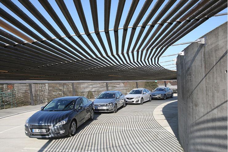 Mazda 6, Opel Insignia, Peugeot 508, VW Passat