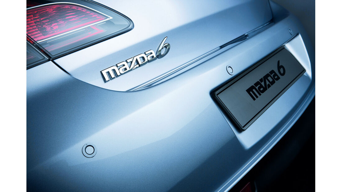 Mazda 6, Parksensor, Detail