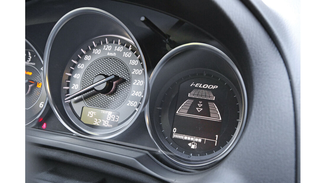 Mazda 6, Rundinstrumente, i-Eloop