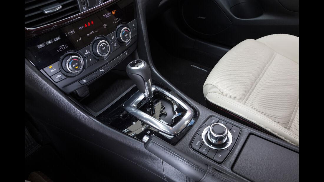 Mazda 6, Schalthebel
